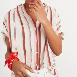 Madewell Button-Up Central Shirt in Albee Stripe